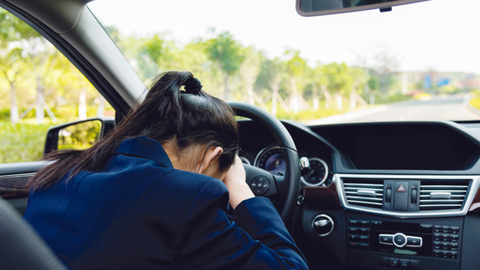 Fleet drivers are recommended to pull over, take a break or a power nap, if they have trouble...