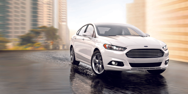 The Ford Fusion mid-size sedan features several technology enhancements for the 2016 model-year,...
