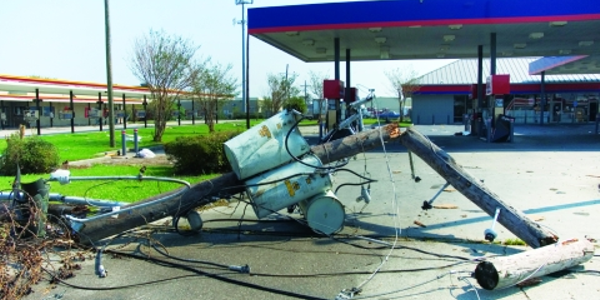The widespread destruction caused by Hurricane Katrina made it difficult for fleets to get back...