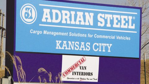 Adrian Steel's new facility will support the installation of cargo management solutions for the...