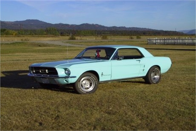 1967 Ford Mustang.