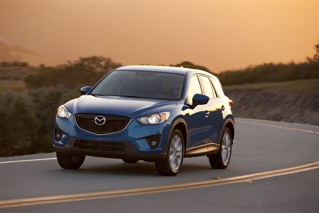The all-new 2014 CX-5 features the full complement of SKYACTIV technology.