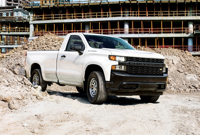 Photo of the 2019 Chevrolet Silverado courtesy of GM.