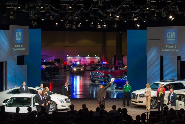 During the opening day business meeting at the Gaylord Palms Resort in Orlando, customers had the opportunity to learn from GM senior leaders and viewed the latest products.
