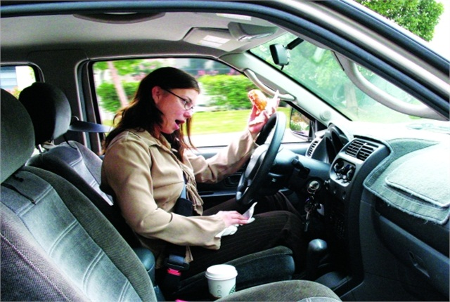Despite Driver Safety Focus, Distraction Continues