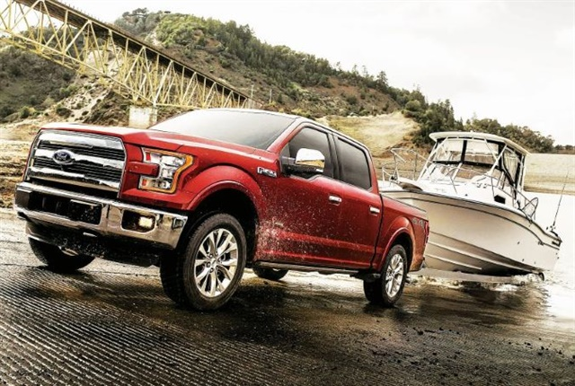 Photo of the Ford F-150 courtesy of Ford.
