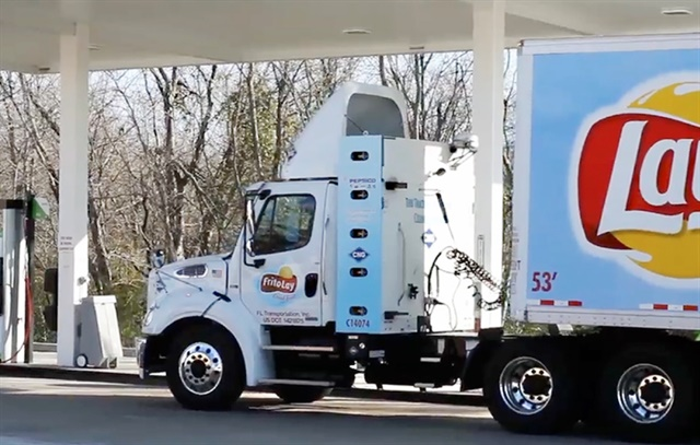 Fleets and natural-gas engine makers are already taking steps to address methane leakage. Photo: Frito-Lay
