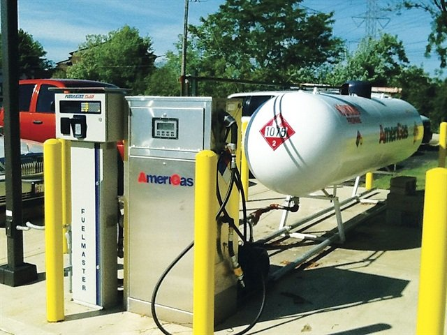 Temperature Service Company spent nearly a year researching its options before deciding to mov forward with gasoline/LPG bi-fuel systems. Photo courtesy of Temerpature Service Company