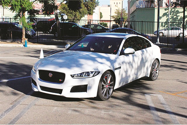 Photo of Jaguar's 2017 XE 3 Series fighter by Paul Clinton.
