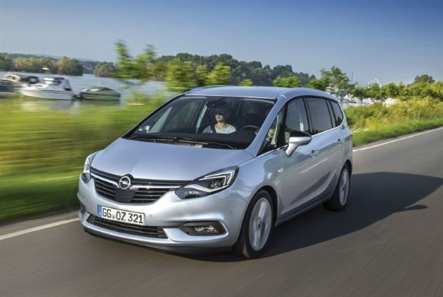 Photo of the Opel Zafira courtesy of Opel.
