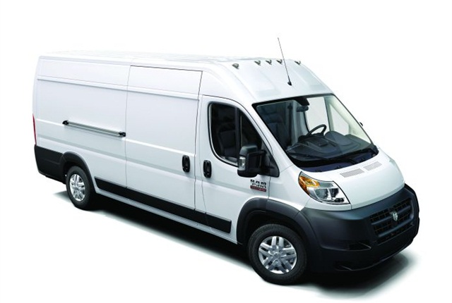 The ProMaster offers two roof heights (90 inches and 101 inches), three wheelbases (118 inches, 136 inches, and 159 inches), and four body lengths (195 inches, 213 inches, 236 inches, and 250 inches).