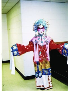 Teri Ross, national vice president of client services for LeasePlan USA, performed in Turandot with the Baltimore Opera Company.