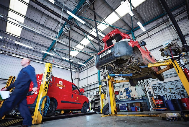 ARI and Royal Mail formed a strategic cooperation agreement in April with the primary goal of providing around the clock maintenance management services for cars, vans and trucks. Photo: ARI
