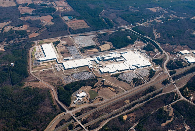 Marvelous Photo Of The Tuscaloosa, Ala., Plant Courtesy Of MBUSA.