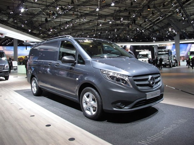 Daimler plans to introduce the rear-wheel drive Vito mid-size van sometime in the fall 2015 in a MY 2016 designation. It comes with a 3.5-liter gasoline engine.