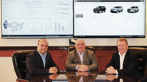 (L-R) Brad Jacobs, director of strategic consulting; Dan Hannan, executive director of strategic...