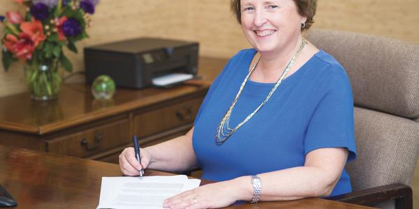 Photo of CEO Beth Kandrysawtz courtesy of Motorlease.