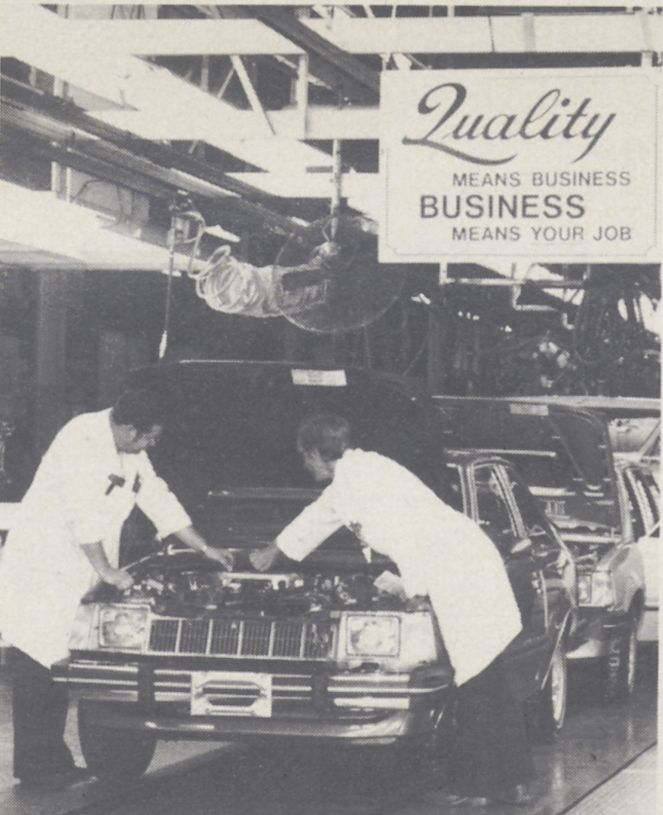 Quality and Economy Highlight 1981 Priorities