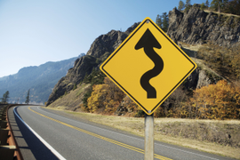 How to Drive Safely on Winding Roads