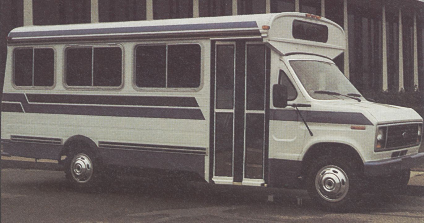 1985 Shuttlebus Showcase Visible Symbols of Corporate Identity