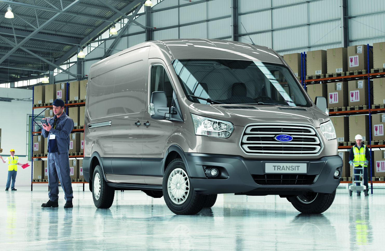 Ford Unveils All-New Transit & Transit Connect