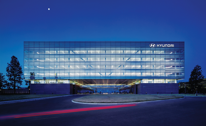Hyundai Motor America is headquartered in Fountain Valley, Calif. The company first entered the U.S.market in the mid-1980s.  - Photo courtesy of Hyundai