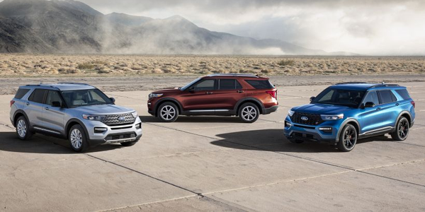 Ford is adding two models to its Explorer lineup for 2020, including a gasoline-electric hybrid...