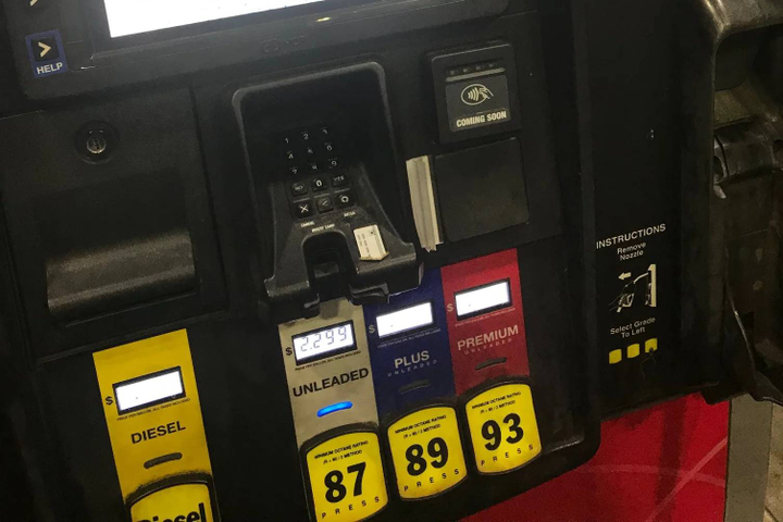 Chip-card readers at fuel stations will help reduce fuel fraud. - Photo courtesy of FLEETCOR.