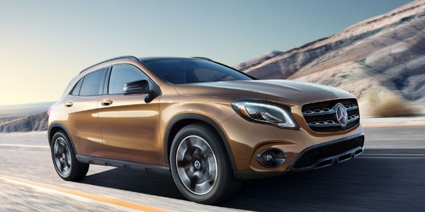 The 2018 Mercedes-Benz GLA-Class SUV.