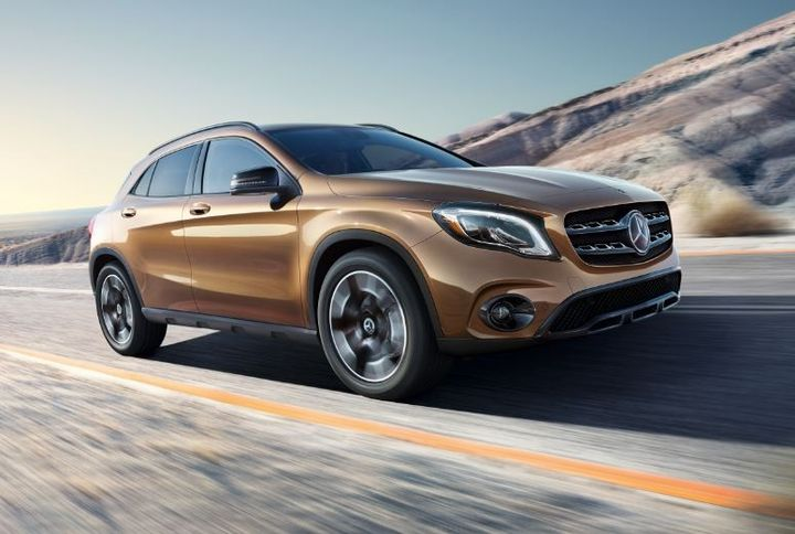 The 2018 Mercedes-Benz GLA-Class SUV. - Photo courtesy of Mercedes-Benz.