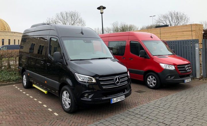Mercedes-Benz is shifting production of its 2019 Sprinter vans to South Carolina from Germany.  - Photo by Paul Clinton.
