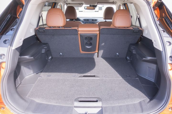 The Rogue's ample cargo area supports fleets that don't need a full-size van.