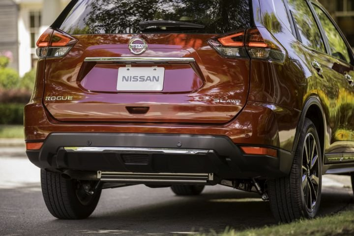 The Rogue's appealing styling helps fleet remarketing efforts.