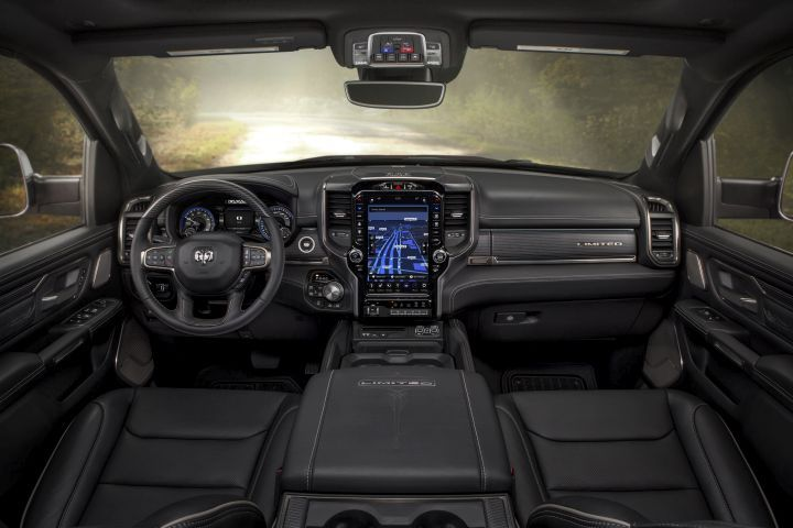 The 2019 Ram 1500 considerably increases interior space and storage.
