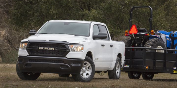 FCA is offering its 2019 Ram 1500 lineup as a next-generation pickup (shown) that will be sold...