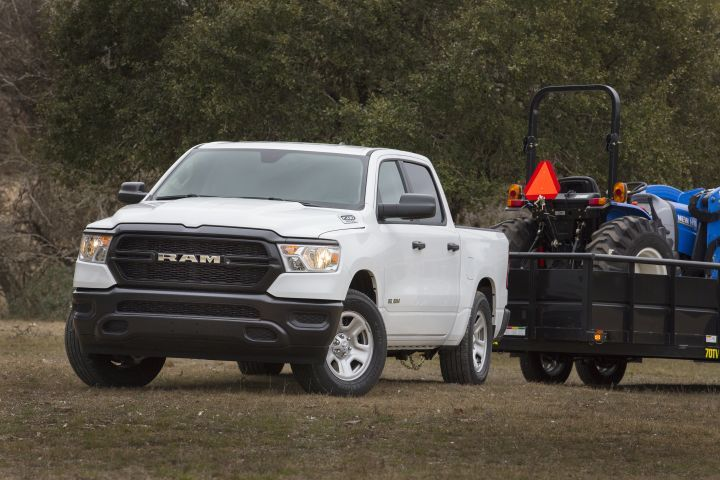 FCA is offering its 2019 Ram 1500 lineup as a next-generation pickup (shown) that will be sold alongside the existing model, which will be renamed as the Ram 1500 Classic.