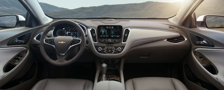 The interior can be upgraded on base models to include leather surfaces.