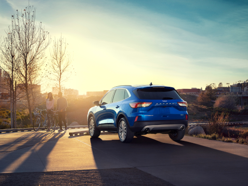 The 2020 Escape gets 30 mpg in highway driving.  - Photo courtesy of Ford.