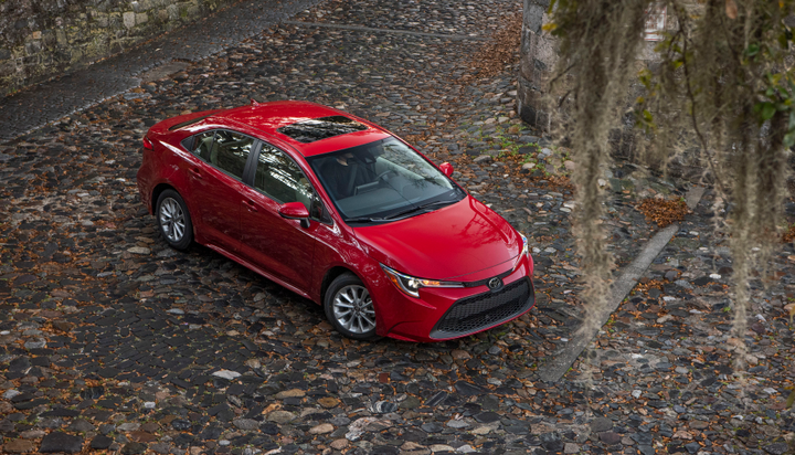 Toyota is offering a $800 fleet incentive.  - Photo courtesy of Toyota.