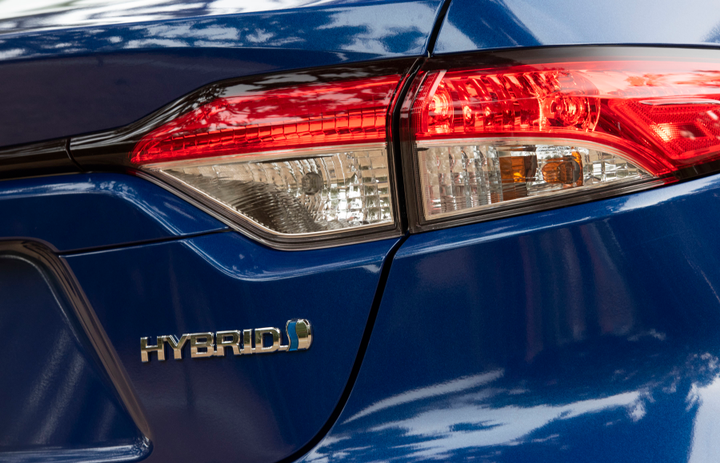 The hybrid delivers an EPA-rated 52 mpg in combined fuel economy.  - Photo courtesy of Toyota.