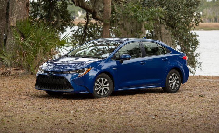 Toyota added a hybrid variant to its 2020 Corolla lineup.  - Photo courtesy of Toyota.