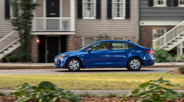 The hybrid model achieves favorable TCO around the 50,000-mile mark.  - Photo courtesy of Toyota.