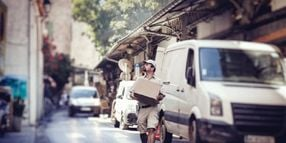Last-Mile Deliveries Surge in a Socially Distanced World