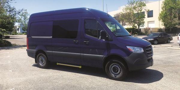 The Sprinter is known for its high roof profile. Its large front windshield provides excellent...