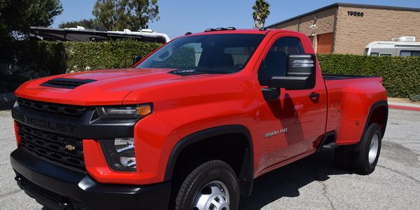Depending on the configuration the Silverado 3500 will be able to tow up to 35,500 pounds, when...