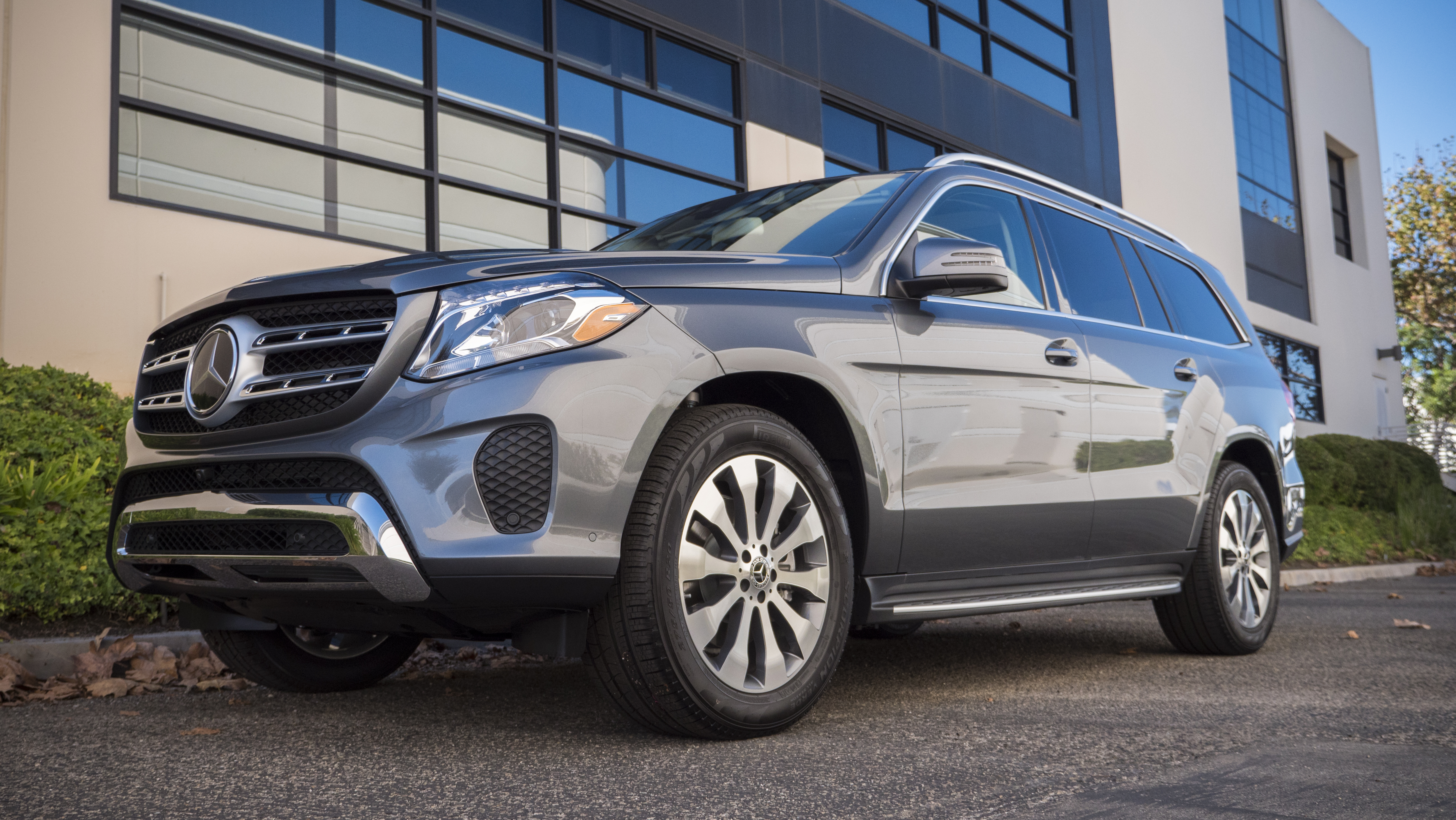 2018 Mercedes Benz GLS450 4MATIC