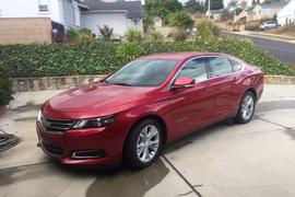 2015 Chevrolet Bi-Fuel Impala (CNG)