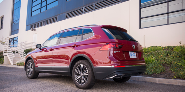 Photo of 2018 Volkswagen Tiguan's exterior by Vince Taroc.
