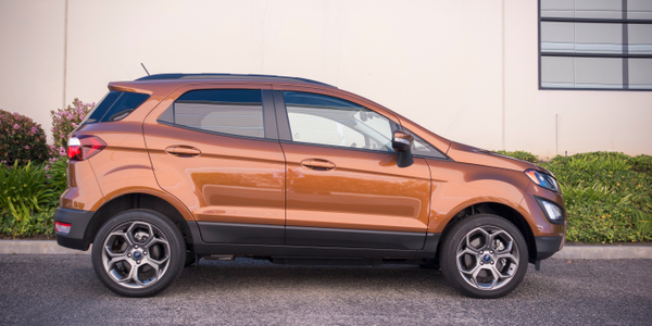 The EcoSport is 161.3 inches long and sits on a 99.2-inch wheelbase and is positioned below the...