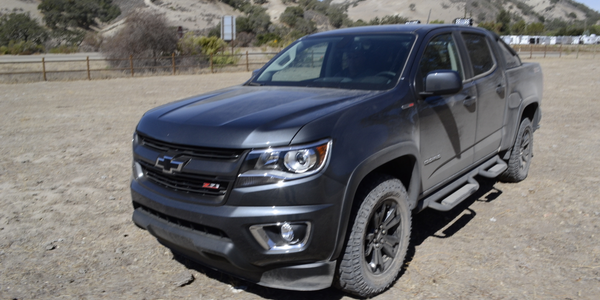 A 2016 Colorado Duramax Diesel after an off-road drive testing the smart diesel exhaust brake....